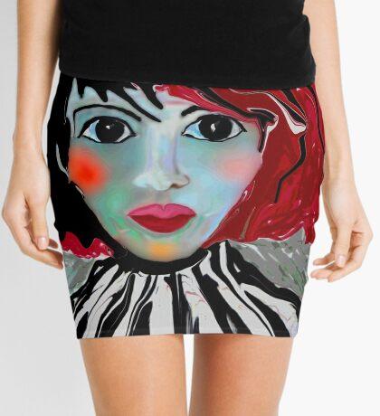 Anime Lee Mini Skirt