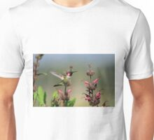 Ruby Throated Hummer Frozen With Style Unisex T-Shirt