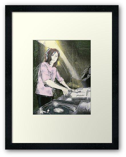 Lady DJ by tsena74
