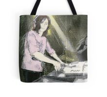 Lady DJ Tote Bag