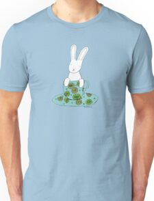 Bunny in a teacup Unisex T-Shirt