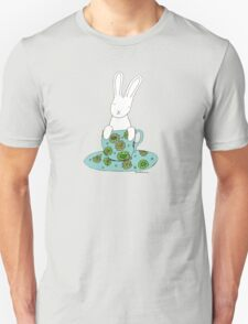 Bunny in a teacup Unisex T-Shirt