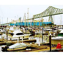 Astoria Bay Photographic Print