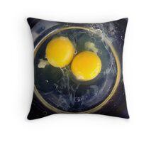 eggs! Throw Pillow