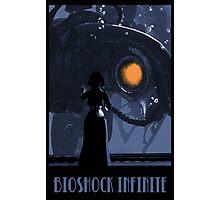 Bioshock Infinite Inspired Elizabeth and Songbird Fan Art Photographic Print