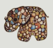 Patchwork Elephant by © Karin  Taylor