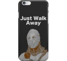"Humongous- ""Just Walk Away"" - Road Warrior iPhone Case/Skin"