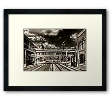 Ybor City, Ghost Town HDR  Framed Print