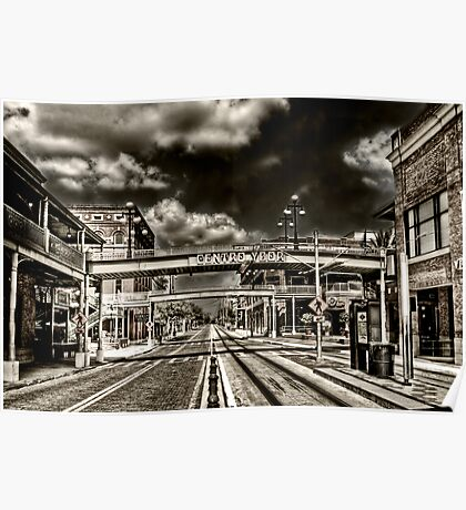 Ybor City, Ghost Town HDR  Poster