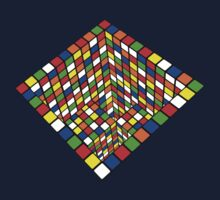 Illusion Cube  by Tom Douce