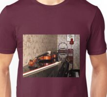 Violin on top of Piano Unisex T-Shirt