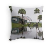 swamp shanty Throw Pillow