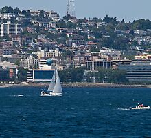 Sailing on the Sound by Barb White
