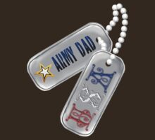 Army Dad Dog Tags by Lotacats