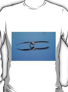 Brown Pelican Skims The Water T-Shirt