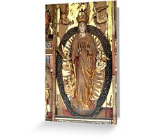 The Ascending Madonna Greeting Card