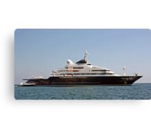 Bill Gates Yacht Canvas Print