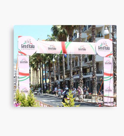 Giro d'Italia Arrival Canvas Print