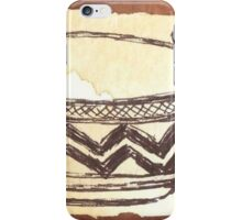 African clay pots - Ethnic series iPhone Case/Skin