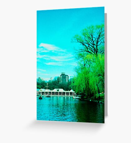 The Boathouse Greeting Card