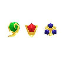LoZ Sage Jewels - Version 1 by RileyOMalley