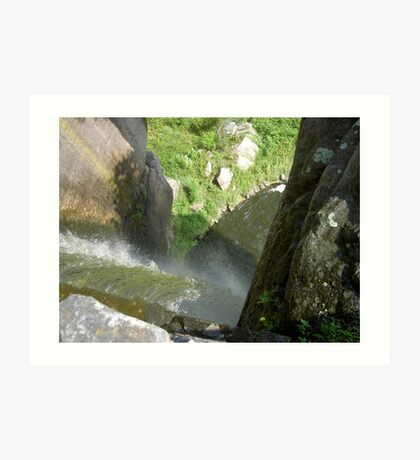 Vertical Waterfall Art Print