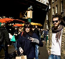Tom & Kat, London Market by Hugh Adams