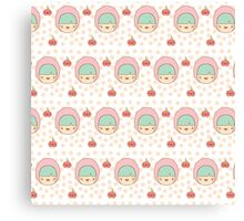 Cute Forest Girl Canvas Print