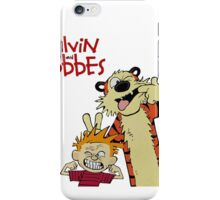 Calvin And Hobbes Funny Smile iPhone Case/Skin