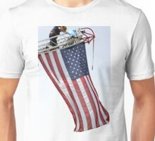 USA Flag Flying High Unisex T-Shirt