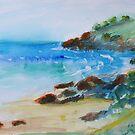 Cabarita Beach  by Virginia McGowan