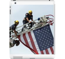 Let The USA Flag Fly iPad Case/Skin