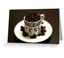 beans of life Greeting Card