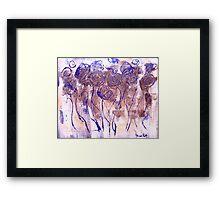 Cotton Summer Framed Print