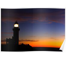 Nature - Byron Bay Lighthouse Poster