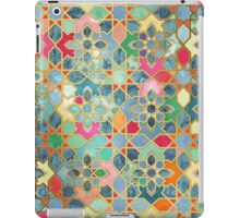 Gilt & Glory - Colorful Moroccan Mosaic iPad Case/Skin