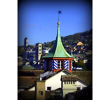 Colourful Steeple Photographic Print