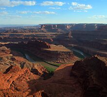 Dead Horse Point at Eventide by Mitchell Tillison