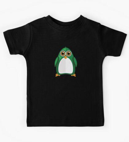 Green Penguin 2 Kids Tee