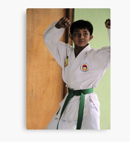 Karate Kid Canvas Print
