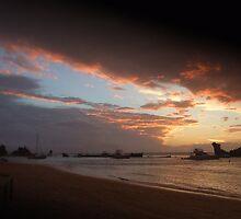 sunset by jasmin montgomery