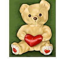 Teddy Hypnotist Photographic Print