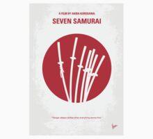 No200 My The Seven Samurai minimal movie poster T-Shirt