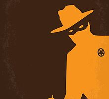 No202 My The Lone Ranger minimal movie poster by JiLong
