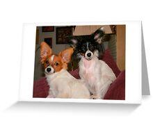 Buddy and Mia Greeting Card