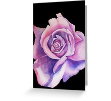 Blue Moon Rose Greeting Card