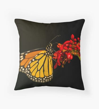 Monarchy Throw Pillow