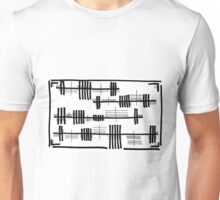BW Tracks Unisex T-Shirt