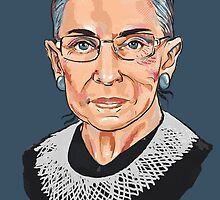 Supreme Court Justice Ruth Bader Ginsburg by Cori Redford