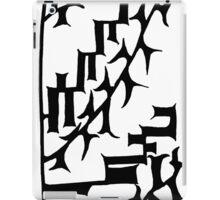 BW Oriental Graph iPad Case/Skin